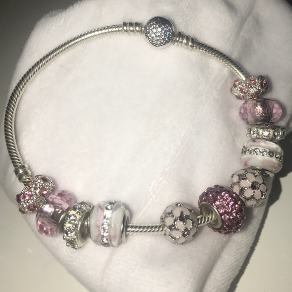 bdd5f32ee Pandora Sparkling Heart Bracelet, Clear CZ. M_5ad75953739d487c348a509a